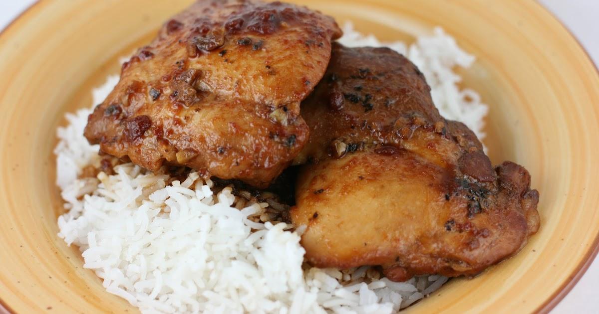 Honey Garlic Chicken Slow Cooker Recipe - A Year of Slow ...