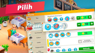My Cafe Recipes & Stories Mod v2020.2.1 Apk + Mod (Money) + Data Android