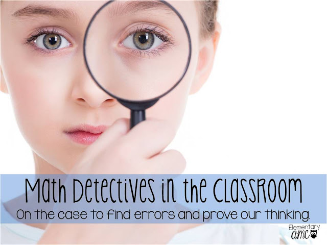 Math Detectives in the Classroom