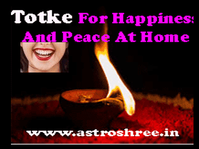 Totke For Happiness And Peace At Home by best astrologer in india