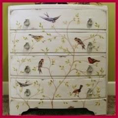 Mi baul vintage chic ideas para decorar muebles con - Como decorar un baul de madera ...