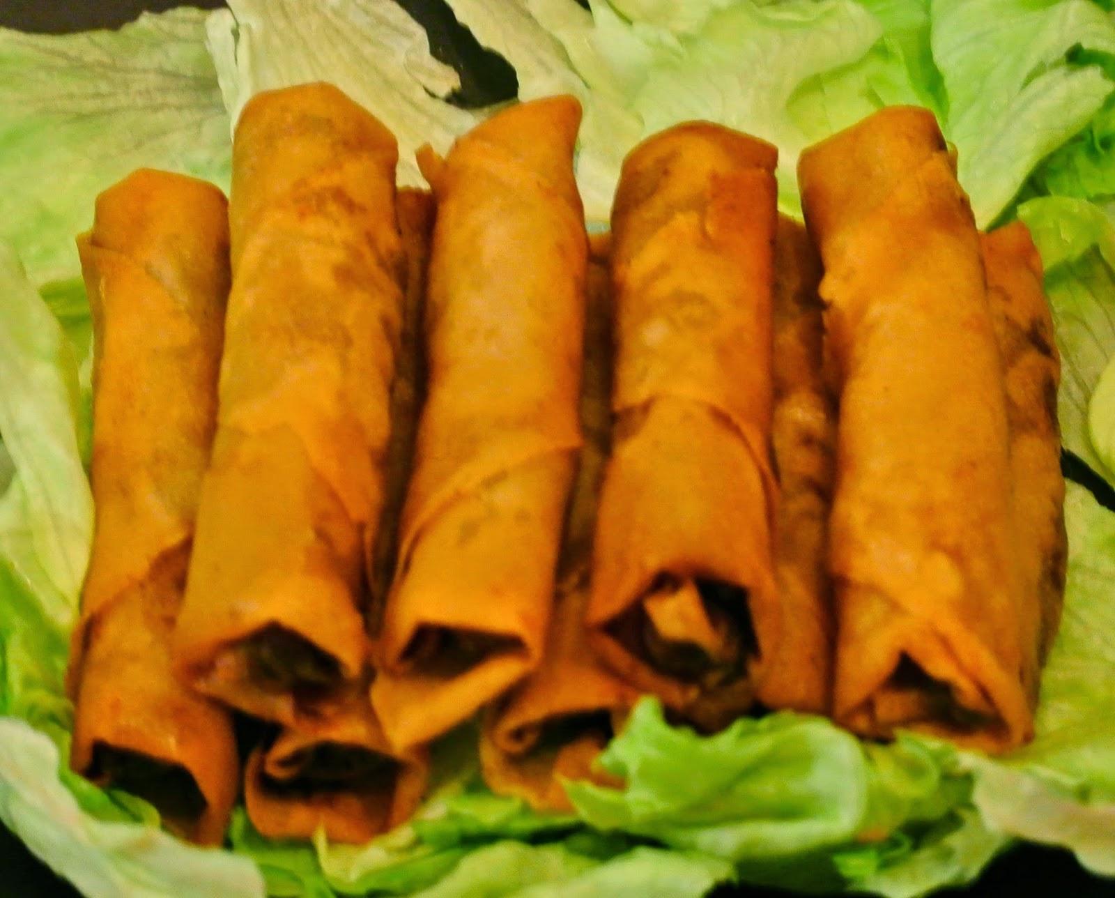Egg rolls, Lumpia