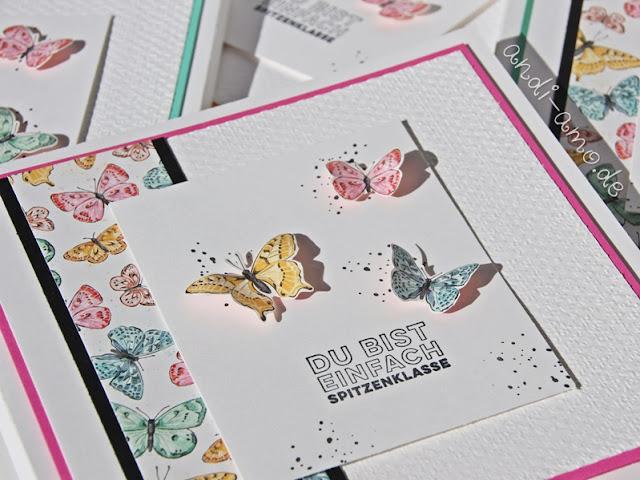 Stampin up Schmetterlingsschmuck Prima Pärchen