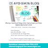 Kelas Online Ayo Bikin Blog Untuk Anak