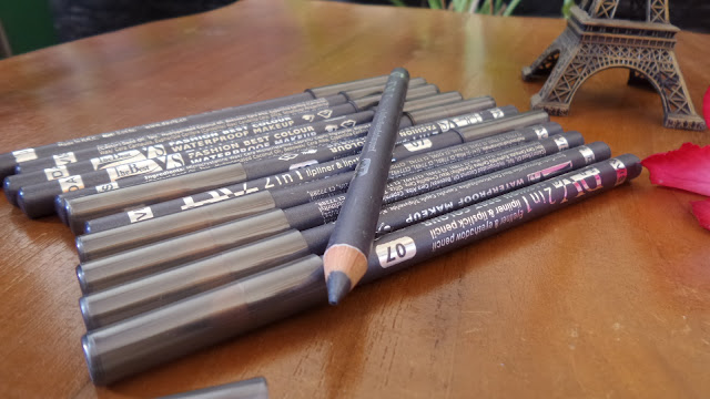 PENSIL ALIS DAVIS  ABU_ABU 2in1 LIP LINER PENCIL
