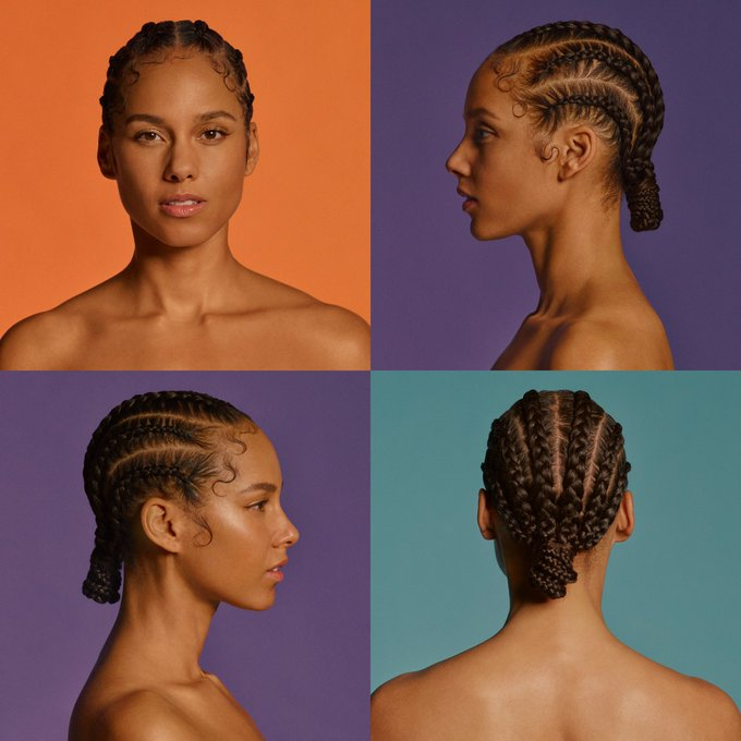 "Alicia Keys New Album ""A.L.I.C.I.A"" Artwork and Date"