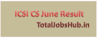 ICSI CS June Result 2016