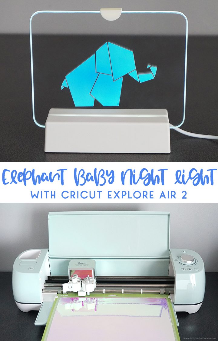 Elephant Baby Night Light