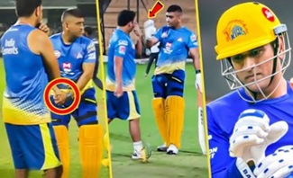 CSK's Verithana Practice Video | CSK, Dhoni, MSD
