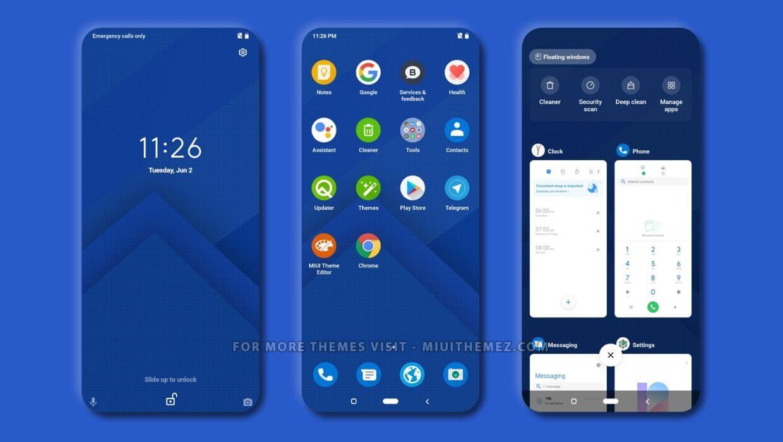 Android Q V12 MIUI 12 Theme
