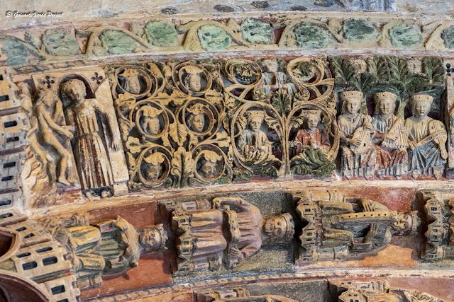 Purgatorio y Paraíso, Portada de la Majestad, Colegiata de Santa María - Toro