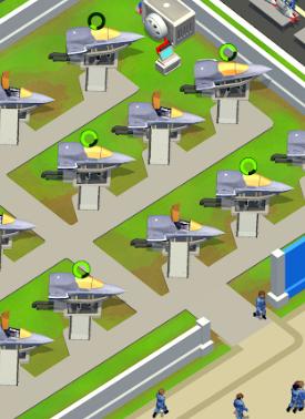 Idle Air Force Base v0.9.0 Oyunu Yükseltme Hileli Apk İndir