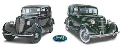 """""""Эмка"""" выпускалась с 1936 по 1942 год (в двух вариациях передней решетки)."""