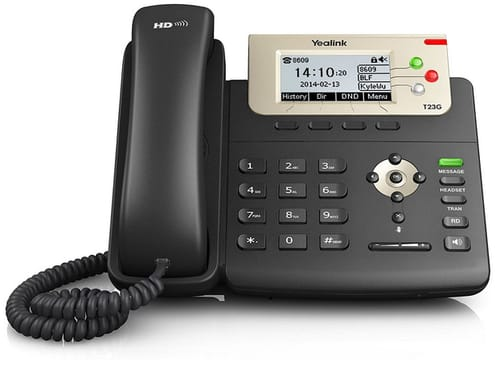 Ooma Office Provisioned Yealink Sip-T23G IP Phone