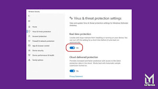 Cara Mematikan Windows Defender 2111