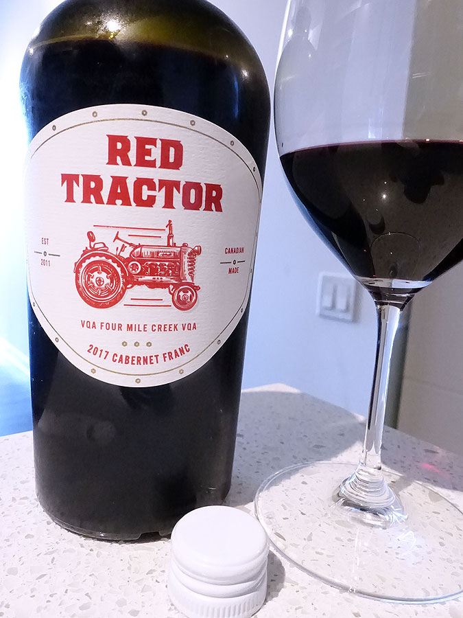 Red Tractor Cabernet Franc 2017 (89 pts)
