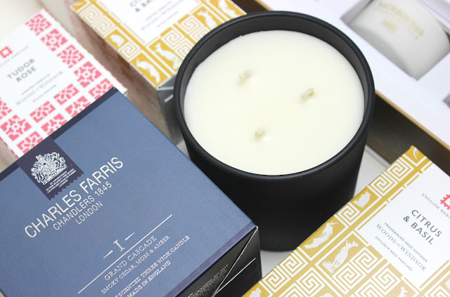 Charles Farris Grand Cascade Signature 3 Wick Candle Review