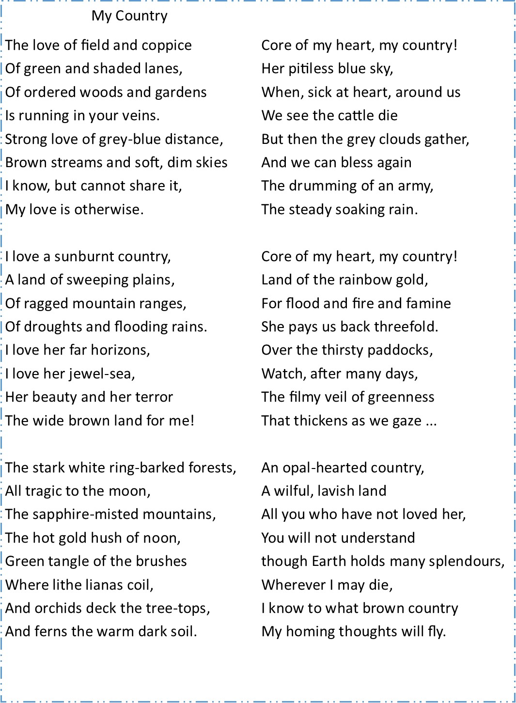 analysis of poetry Use our sample 'sample poetry analysis' read it or download it for free free help from wikihow.