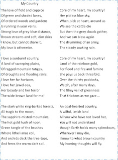 my country poem assonance