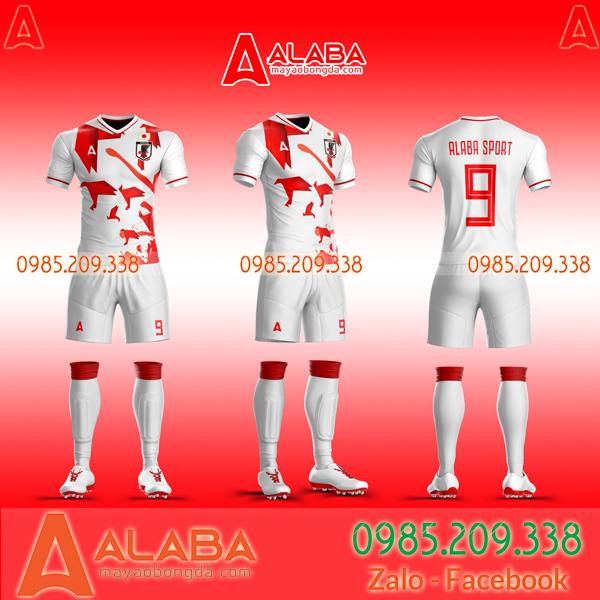 Áo bóng đá Nhật tự thiết kế