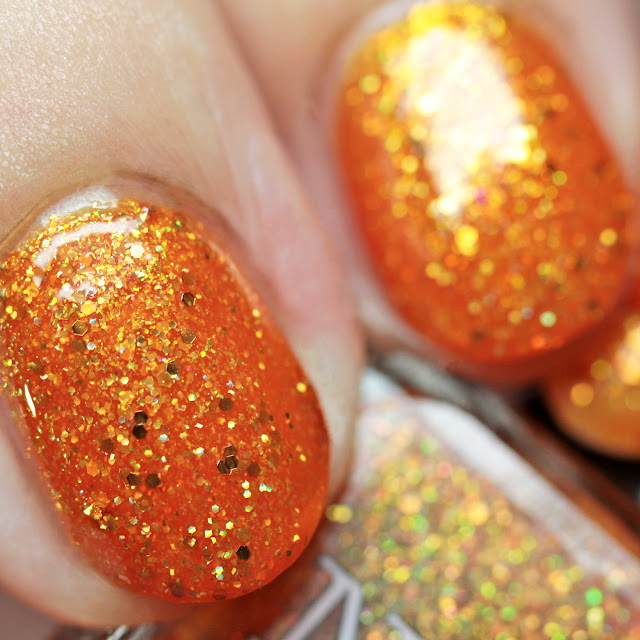 Nail Hoot Indie Lacquers Jack of the Lantern