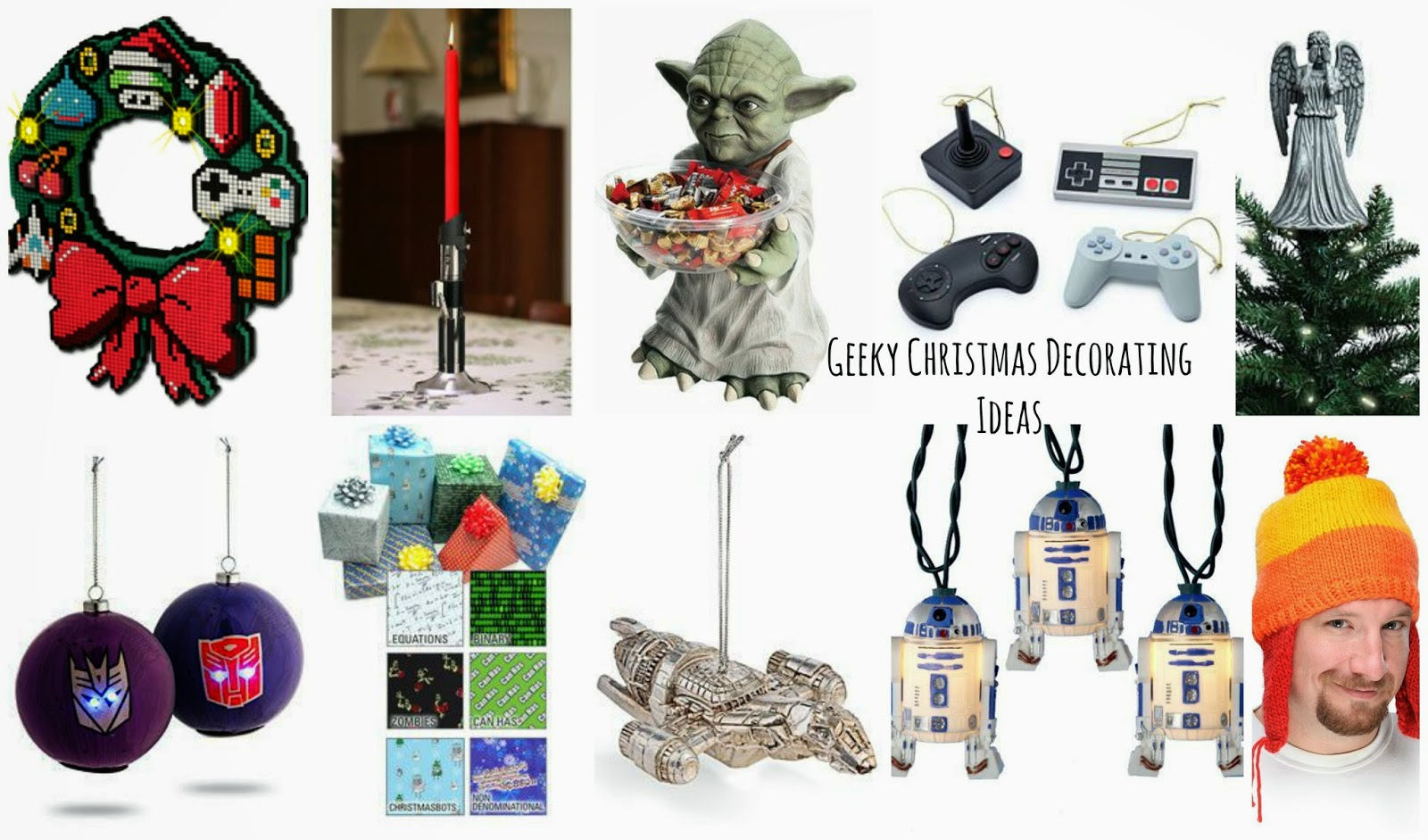 Have yourself a nerdy little Christmas…. Geeky Christmas decorating ideas!