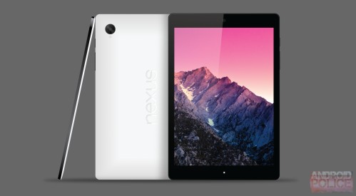 Nuovo tablet Google Nexus 9 da 8,9 pollici in formato 4:3