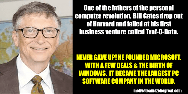 Success Stories From Famous People Who Failed Before Succeeding: Bill Gates