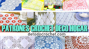 Patrones Crochet de Tapetes, Cortinas y Manteles