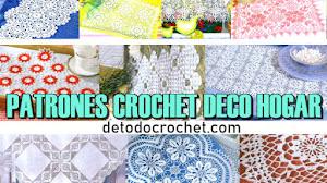 Patrones Crochet de Tapetes, Cortinas y Manteles