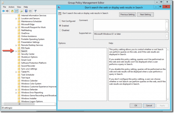 How to Disable Web Search on Windows 10 Start Menu using