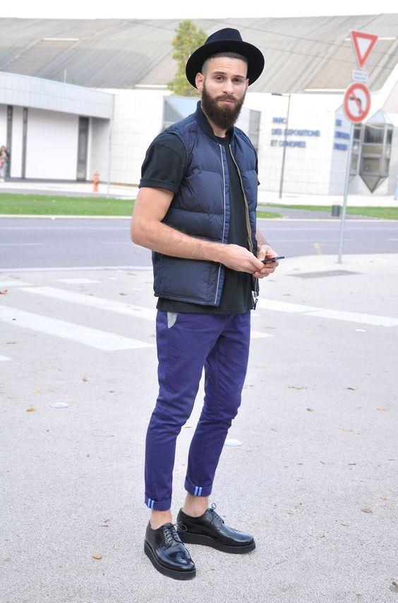 a cor do ano de 2018 moda masculina roxo ultravioleta