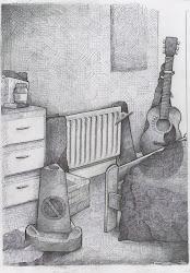 bedroom tonal drawings drawing nikul makwana
