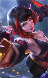 Karina Spider Lily Heroes Assassin Mage of Skins V2