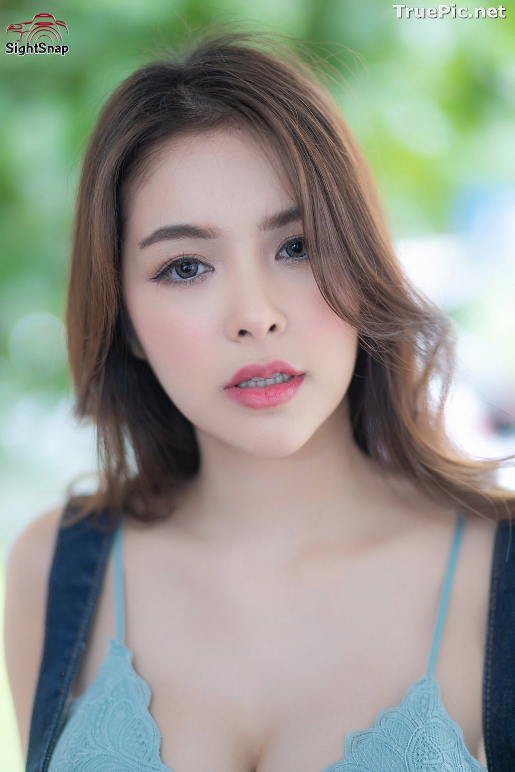 Image Thailand Model - Soithip Palwongpaisal - Blue Bra and Jean - TruePic.net - Picture-7