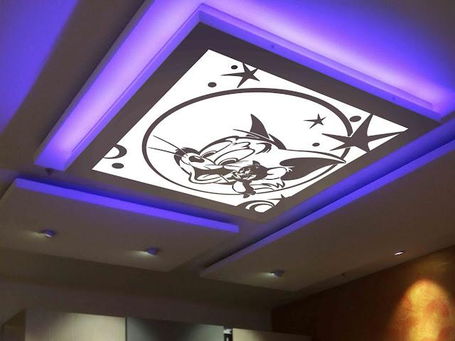 interior design, lighting concept, false ceiling