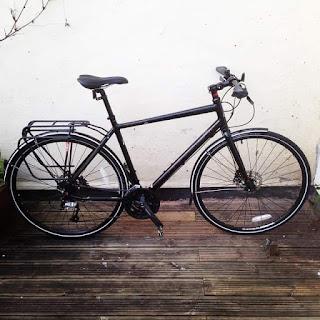 Stolen Bicycle - Ridgeback Element Hybrid