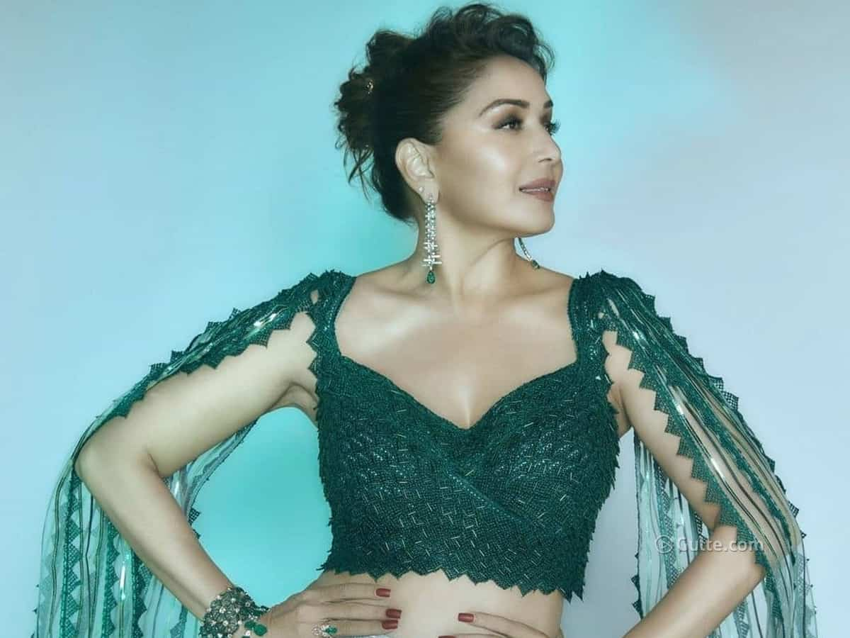 Beauty Pics: Clad during a Rich Lehenga, Madhuri Barely Aged each day