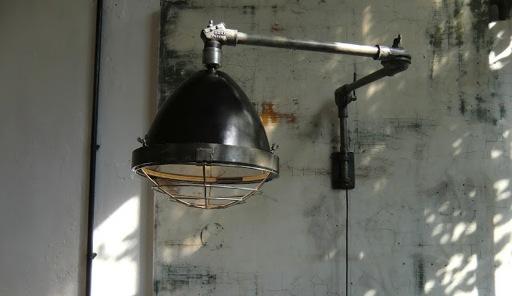 wo and w collection applique murale potence d 39 atelier deux bras articul es elaf paris. Black Bedroom Furniture Sets. Home Design Ideas