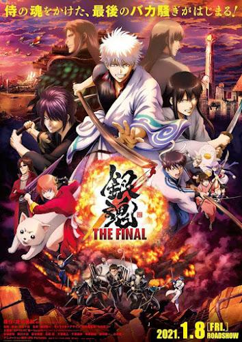 Gintama: The Final (Web-DL 720p Japones Subtitulado) (2021)
