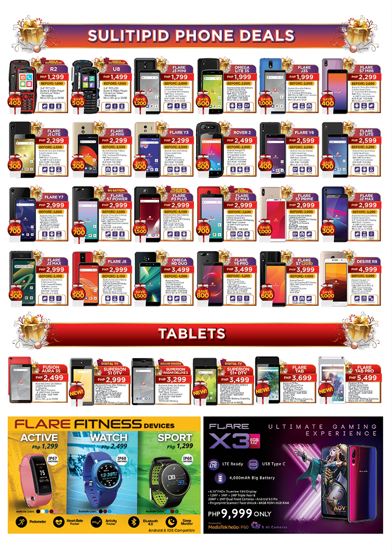 Cherry Mobile Sulitipid smartphones, tablets and accessories!