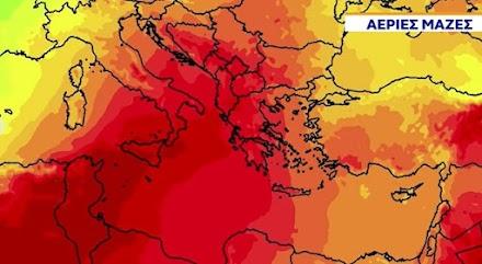 Κλέαρχος Μαρουσάκης : Ισχυρό κύμα ζέστης προ των πυλών της χώρας μας
