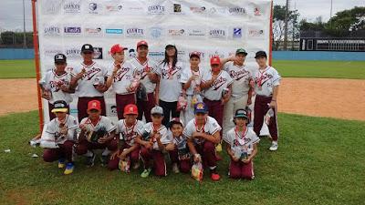 Escolinha de Beisebol de Registro-SP participa do 1º Festival de Little League Brasil