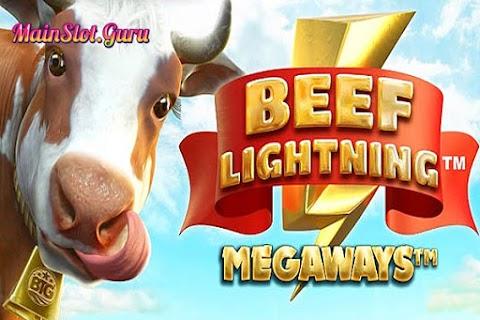 Main Gratis Slot Beef Lightning Megaways (Big Time Gaming) | 96.43% RTP