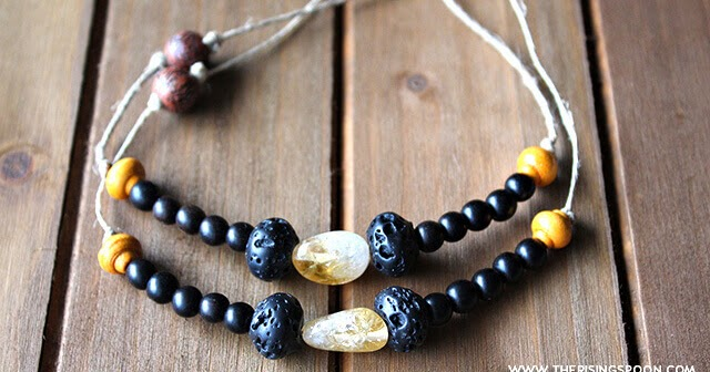 Diy Lava Rock Essential Oil Diffuser Bracelet The Rising