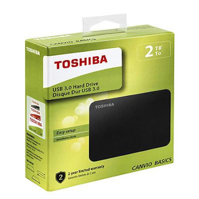 Disque dur Externe Toshiba 2TB Maroc pour PC Portable Mac PS4 XBOX One 2TB