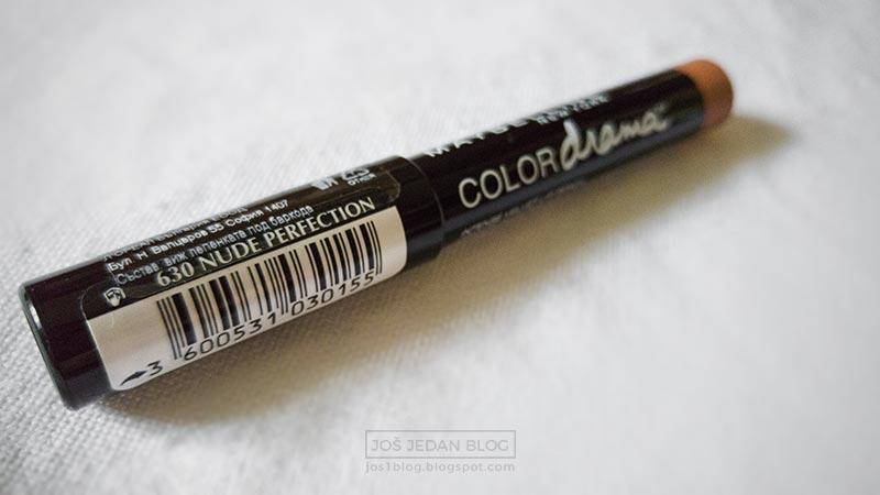 Recenzija Maybelline Color Drama olovke za usne, utisci, sve nijanse, cena, 630 nude perfection