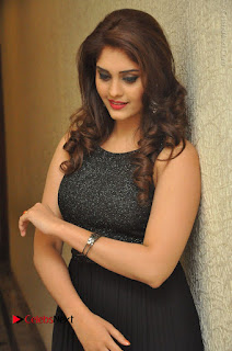 Actress Surabhi Stills in Black Long Dress at turodu Audio Launch  0026.JPG