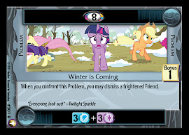 My Little Pony Winter is Coming Equestrian Odysseys CCG Card