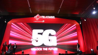 26 Tahun Perkuat Ekosistem Digital Bangsa Telkomsel Luncurkan Layanan 5G Pertama di Indonesia